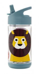 3 Sprouts Water Bottle - Lion